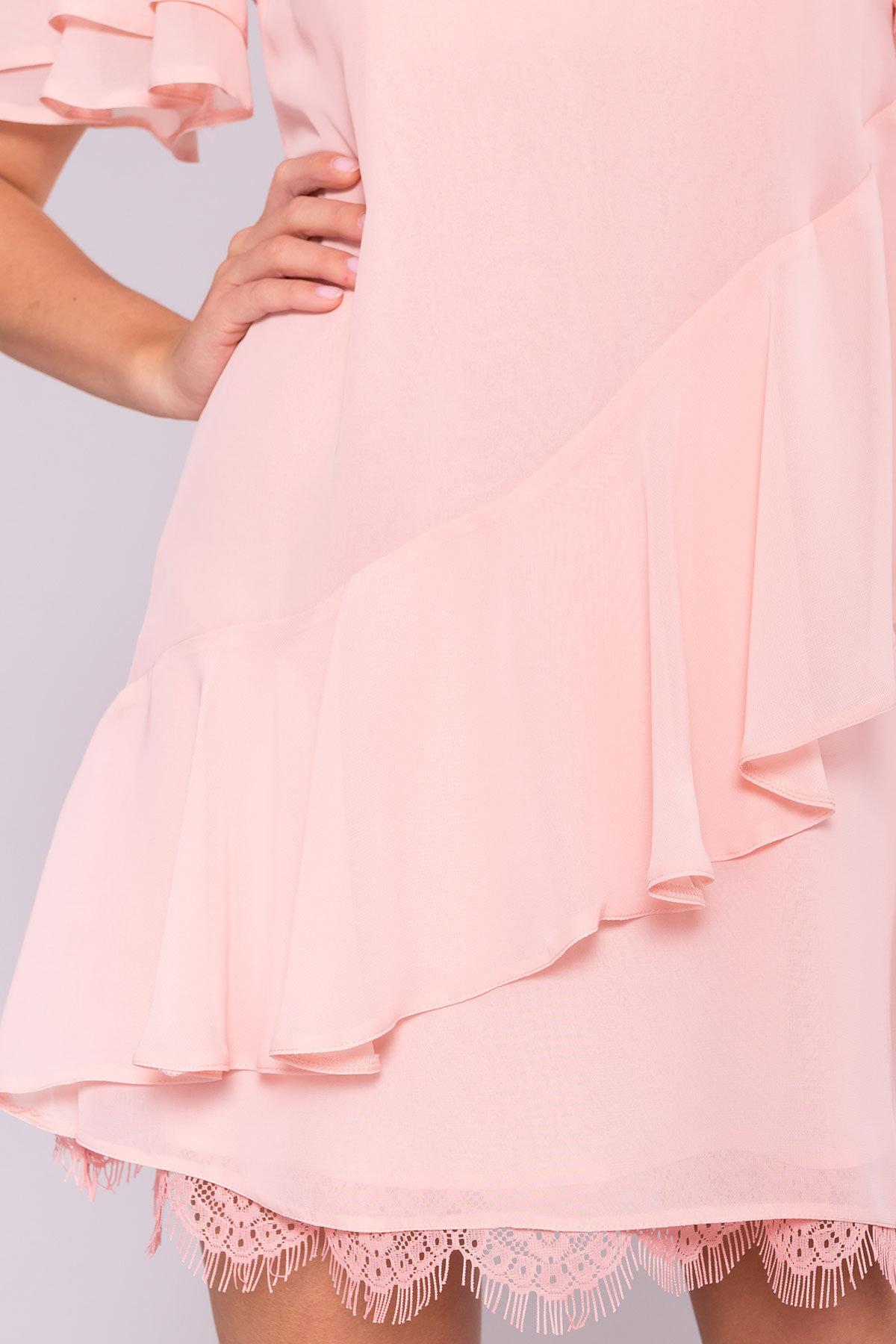 Платье Вито  7003 АРТ. 42310 Цвет: Пудра - фото 5, интернет магазин tm-modus.ru