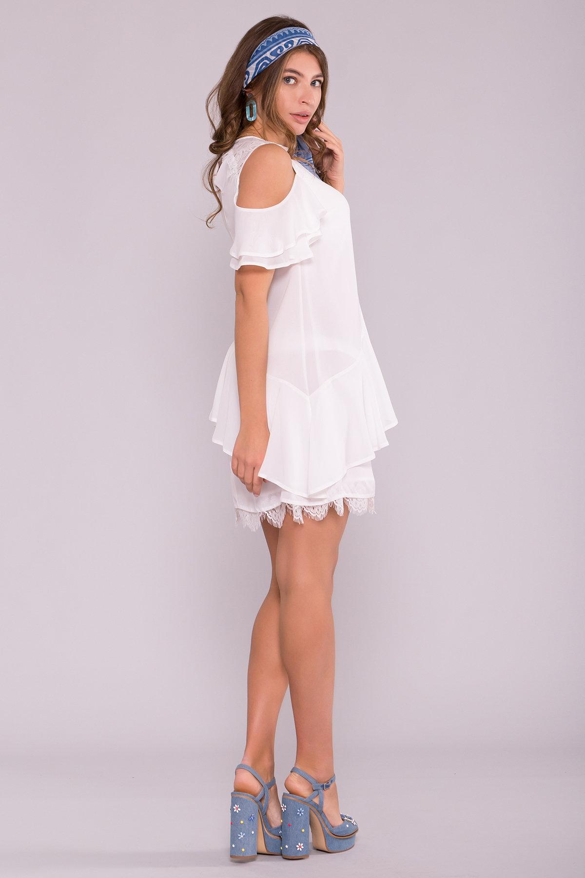 Платье Вито  7003 АРТ. 42411 Цвет: Молоко - фото 4, интернет магазин tm-modus.ru