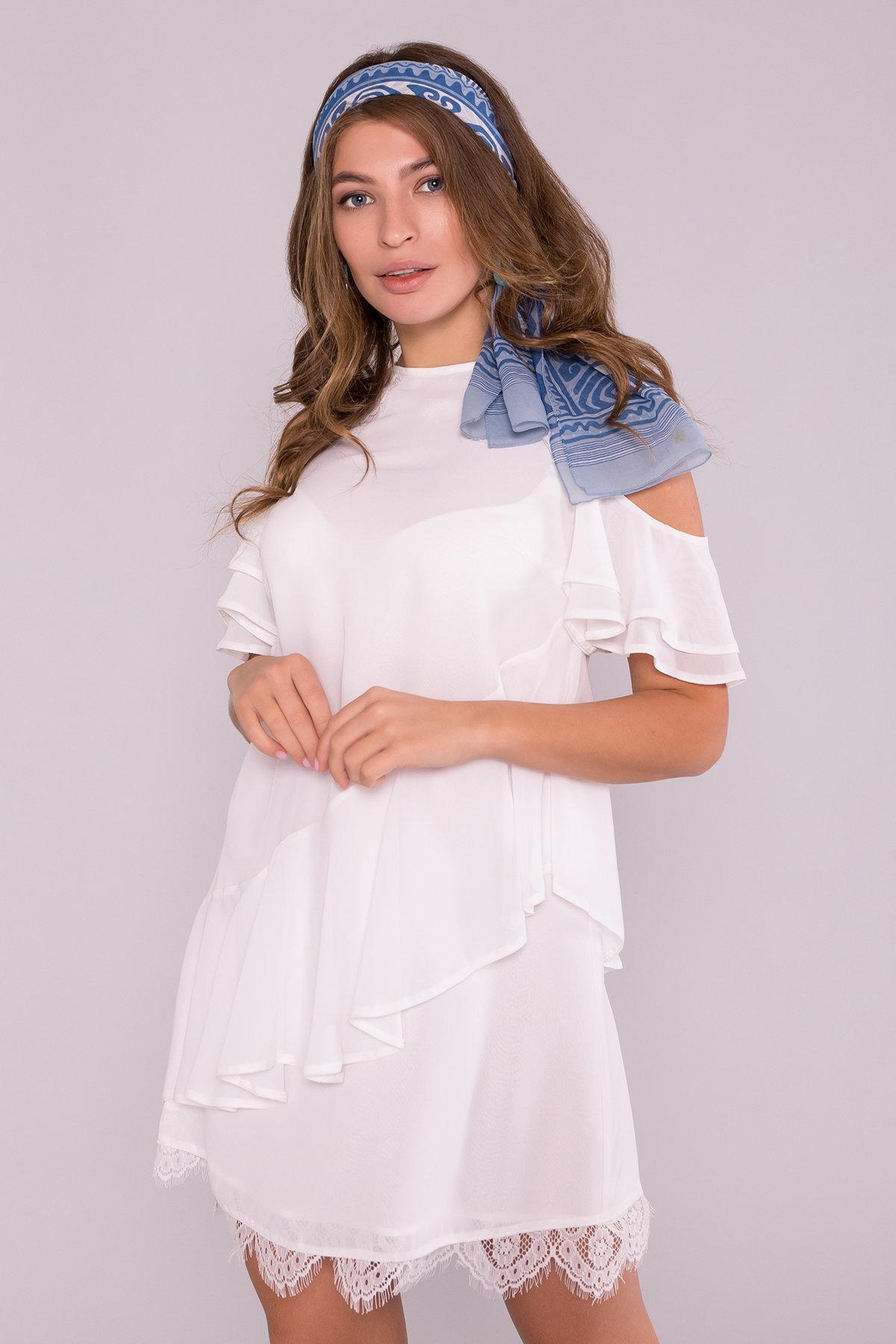 Платье Вито  7003 АРТ. 42411 Цвет: Молоко - фото 6, интернет магазин tm-modus.ru