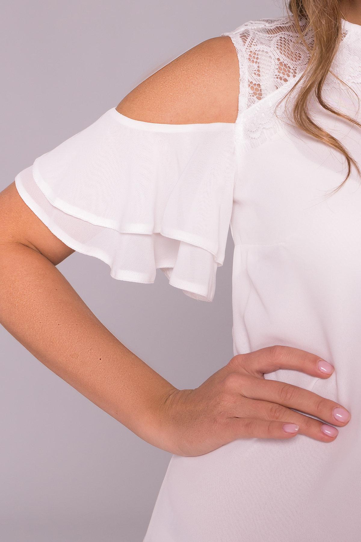 Платье Вито  7003 АРТ. 42411 Цвет: Молоко - фото 8, интернет магазин tm-modus.ru