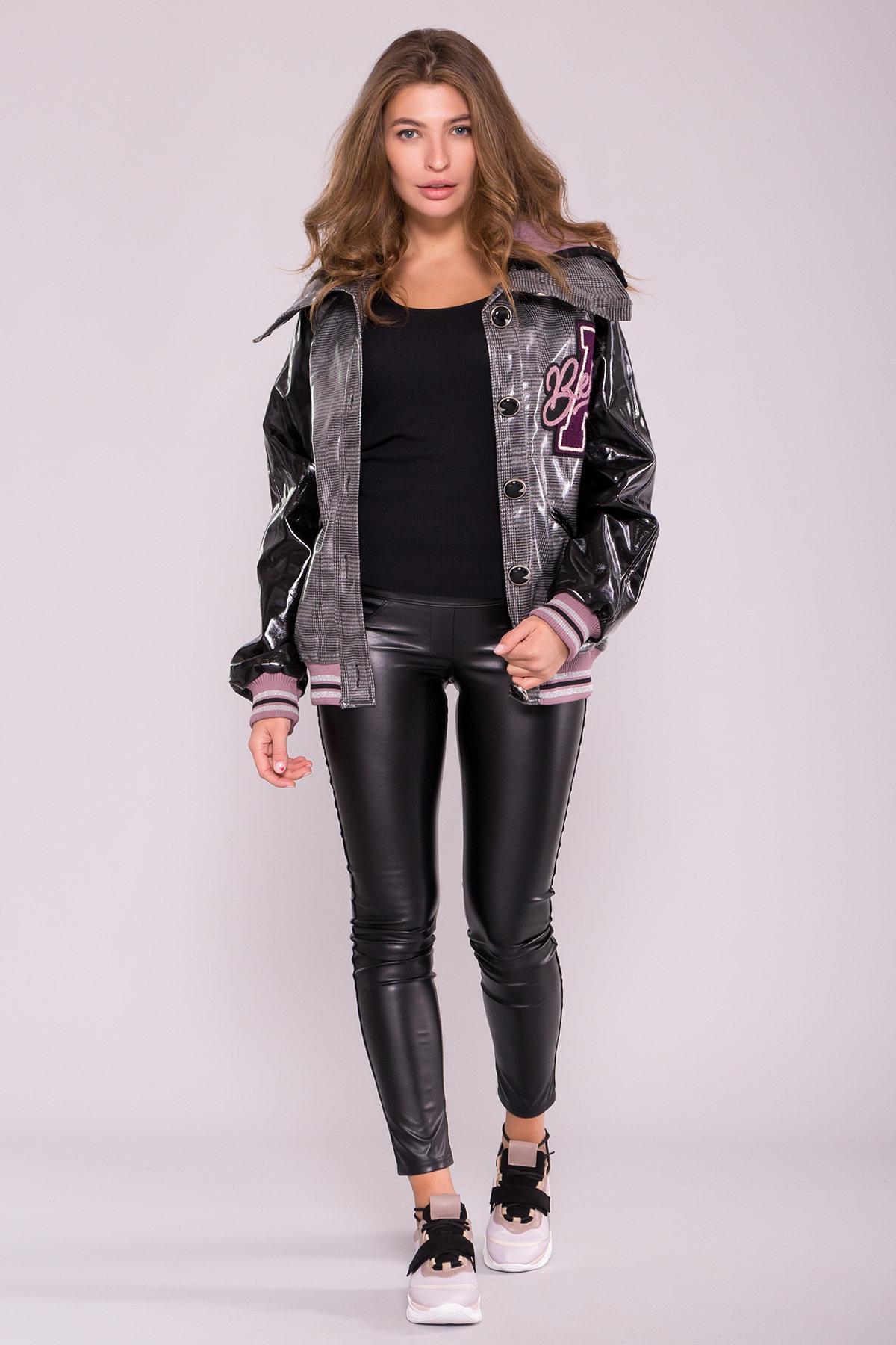 куртка женская купить Куртка с двойным отложным воротником 6852