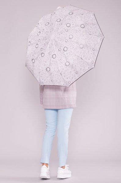 Зонт 6798 Цвет: Белый/черный пузырьки
