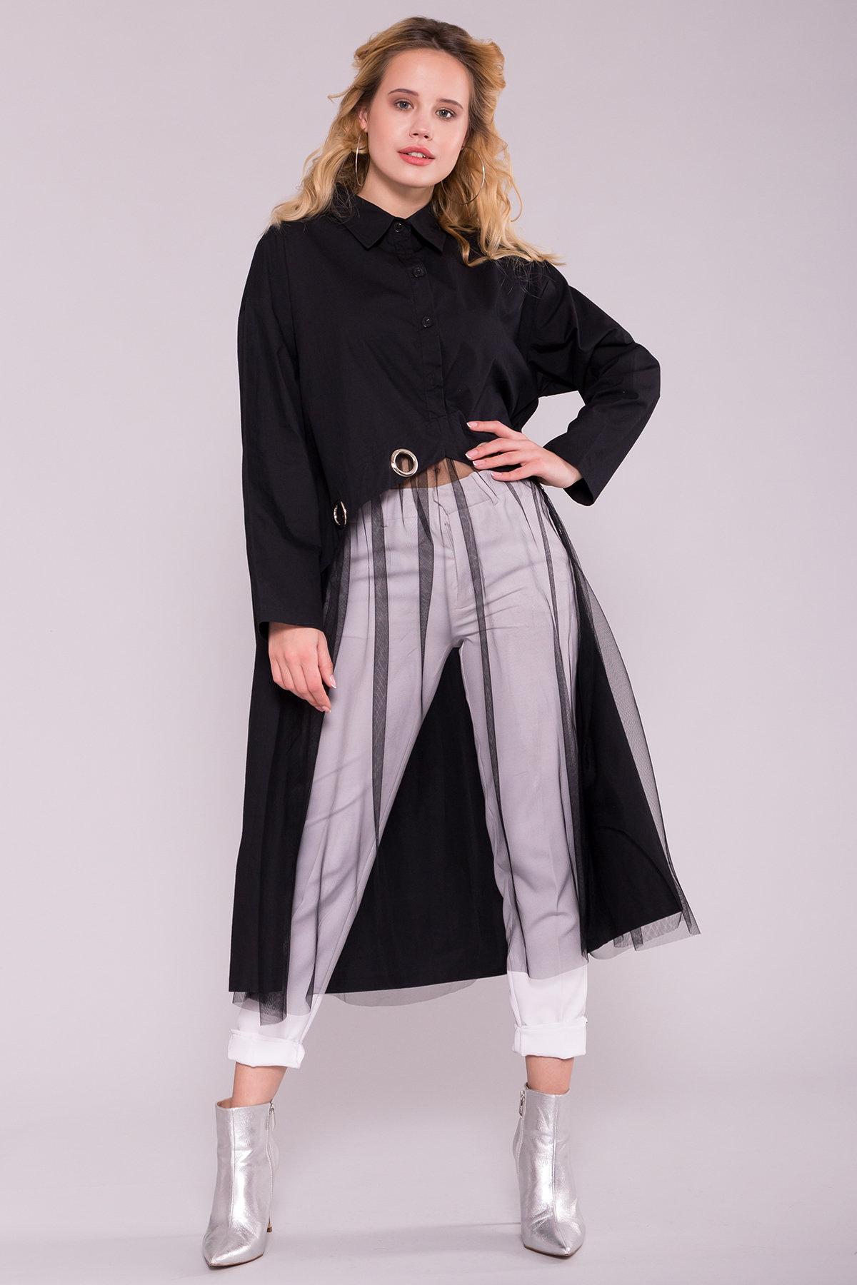 Купить платья оптом Украина Черное Платье 7169