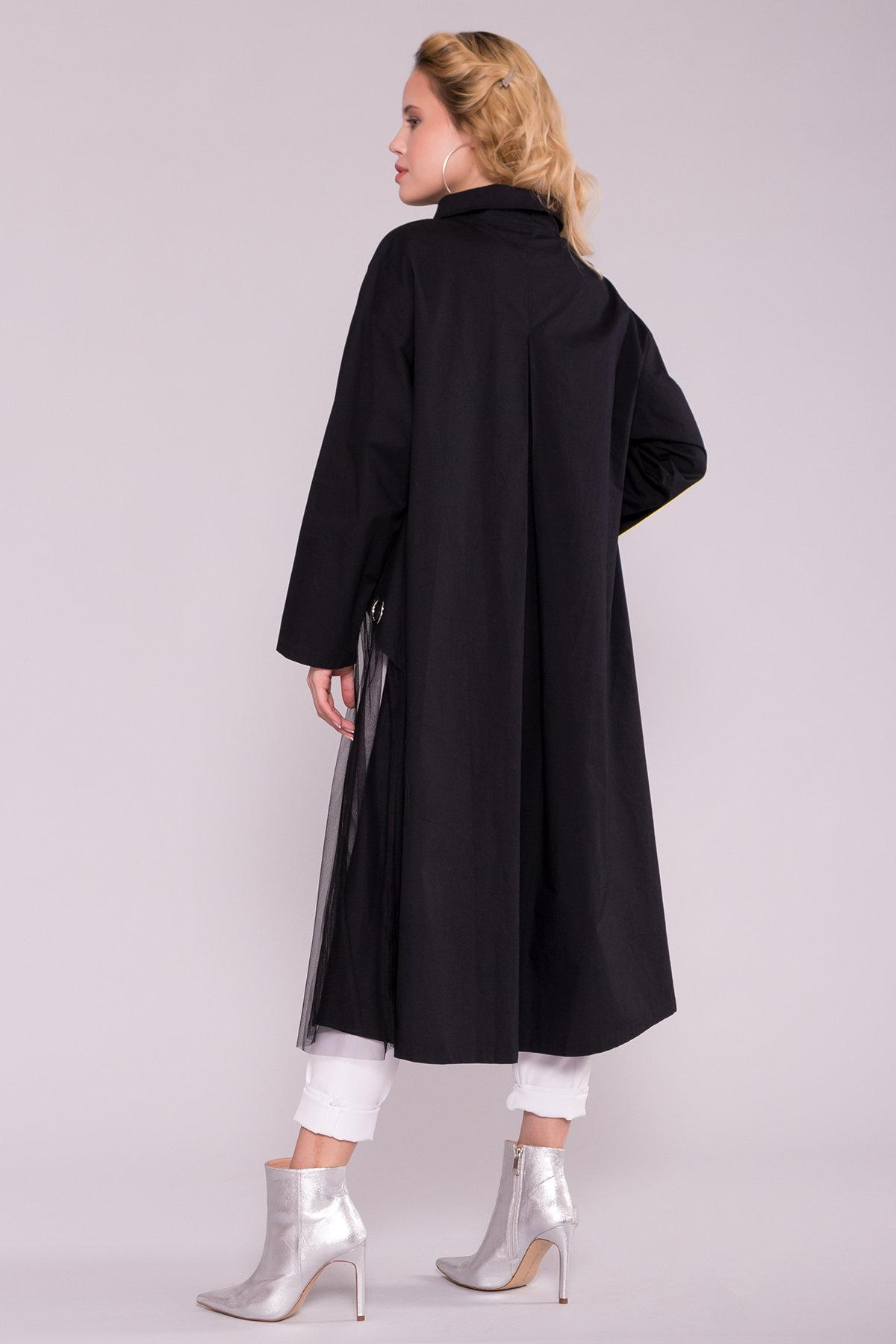 Черное Платье 7169 АРТ. 42592 Цвет: Черный - фото 2, интернет магазин tm-modus.ru
