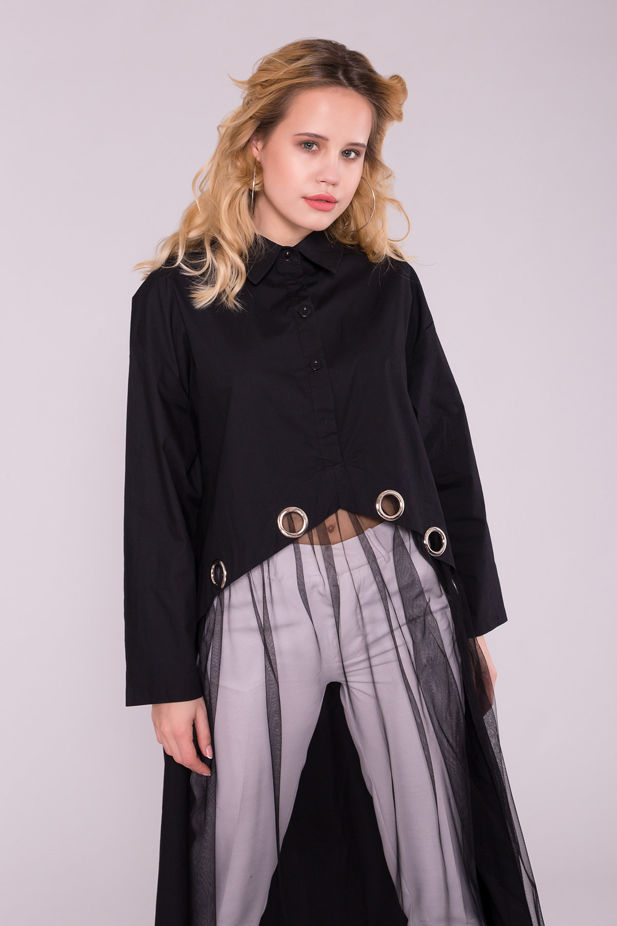 Черное Платье 7169 АРТ. 42592 Цвет: Черный - фото 3, интернет магазин tm-modus.ru
