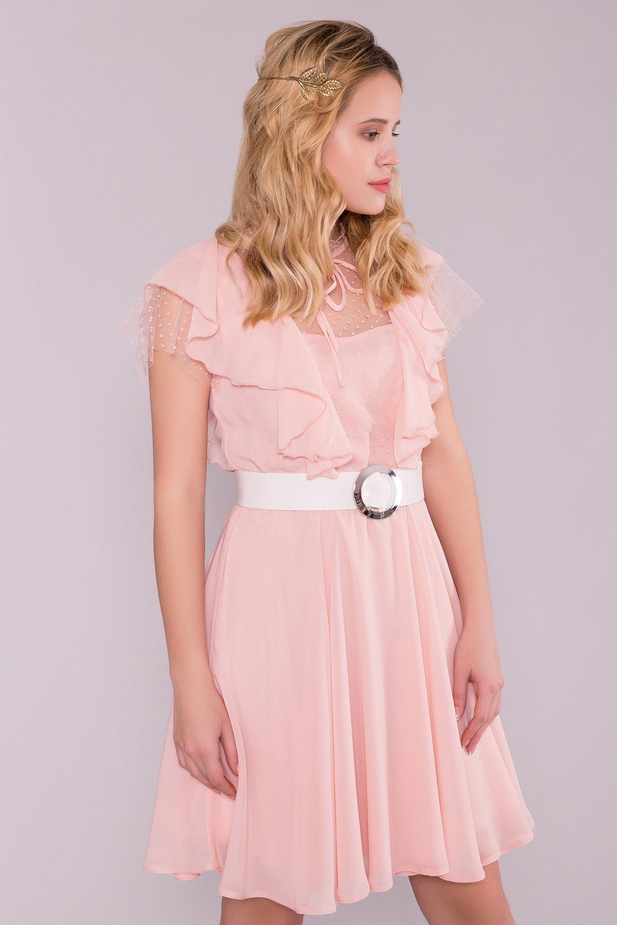 Платье Дали 6992 АРТ. 42308 Цвет: Пудра - фото 5, интернет магазин tm-modus.ru