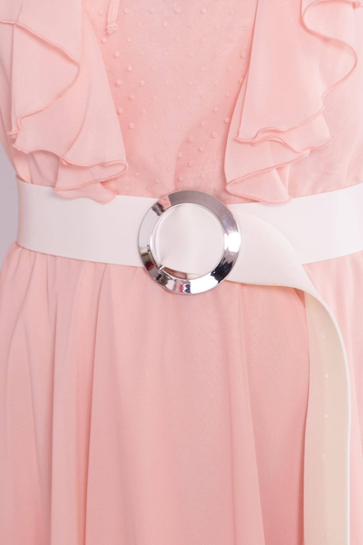 Платье Дали 6992 АРТ. 42308 Цвет: Пудра - фото 7, интернет магазин tm-modus.ru