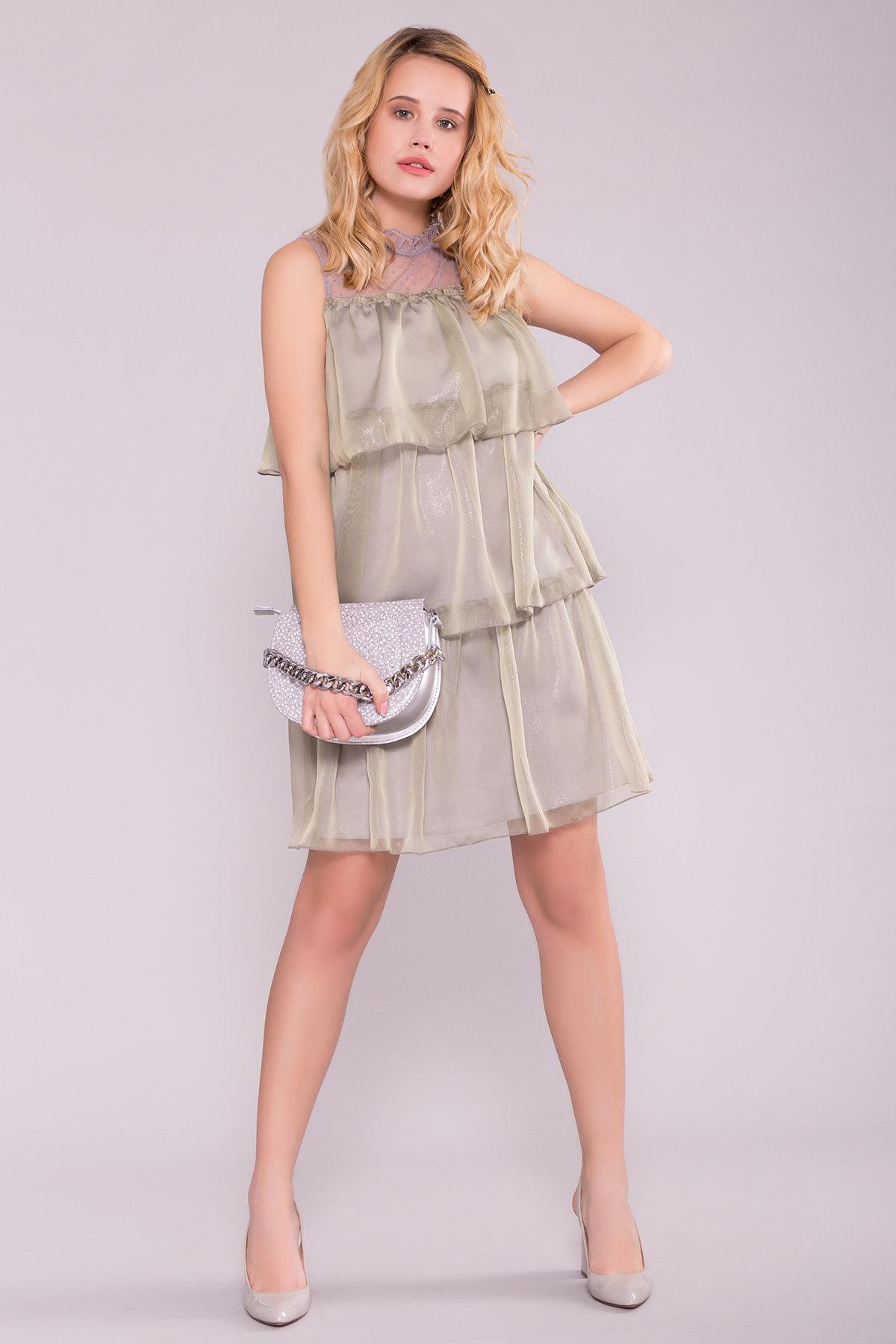 Платья оптом Украина недорого от Модус Перри платье из органзы 7067
