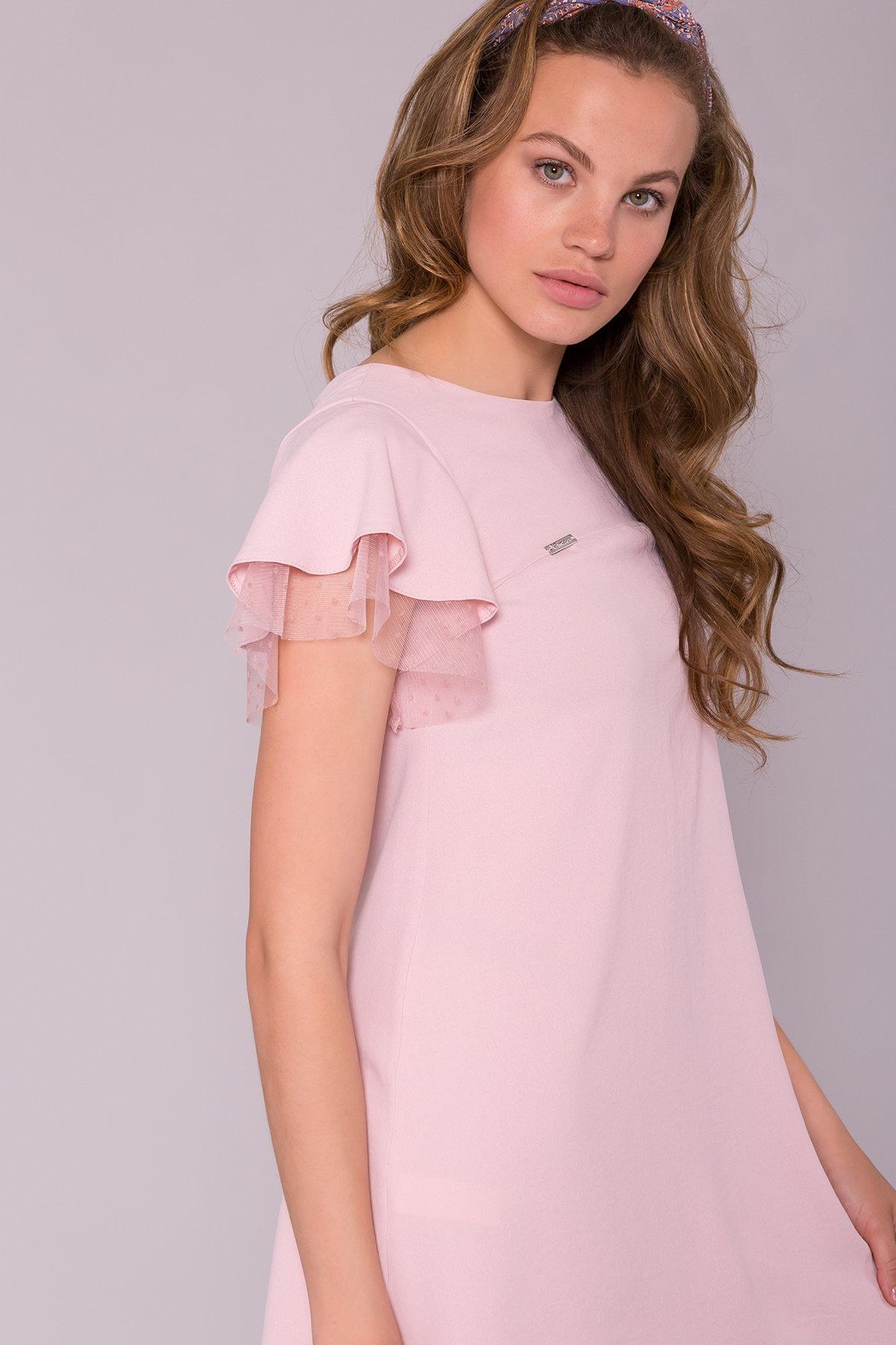 Платье Романтик 7154 АРТ. 42564 Цвет: Розовый 16 - фото 4, интернет магазин tm-modus.ru