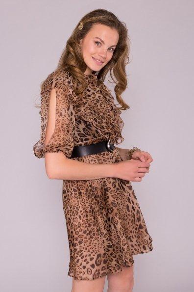Платье Блюз 7093 Цвет: Леопард 1