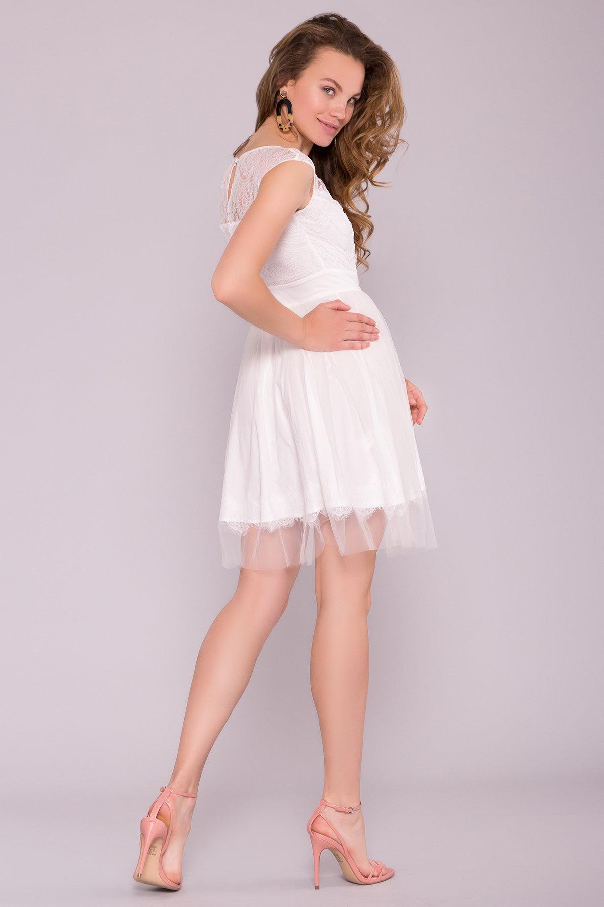 Платье Амур лайт 6913 Цвет: Молоко 2/молоко