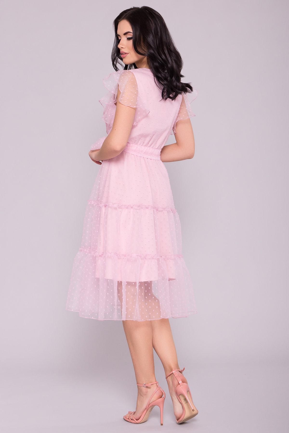 Платье Манана 7075 АРТ. 42448 Цвет: Розовый Светлый 13 - фото 3, интернет магазин tm-modus.ru