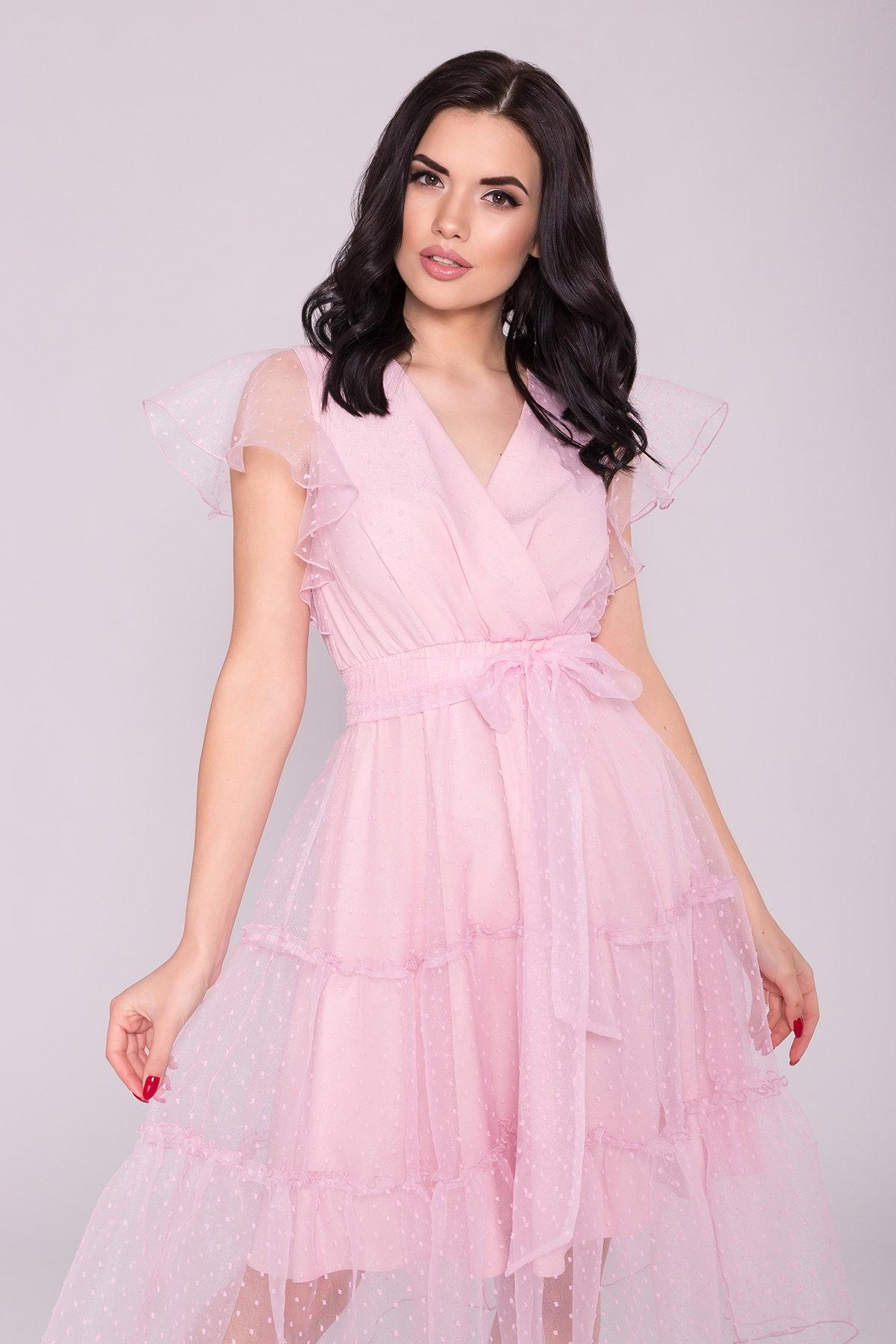 Платье Манана 7075 АРТ. 42448 Цвет: Розовый Светлый 13 - фото 4, интернет магазин tm-modus.ru