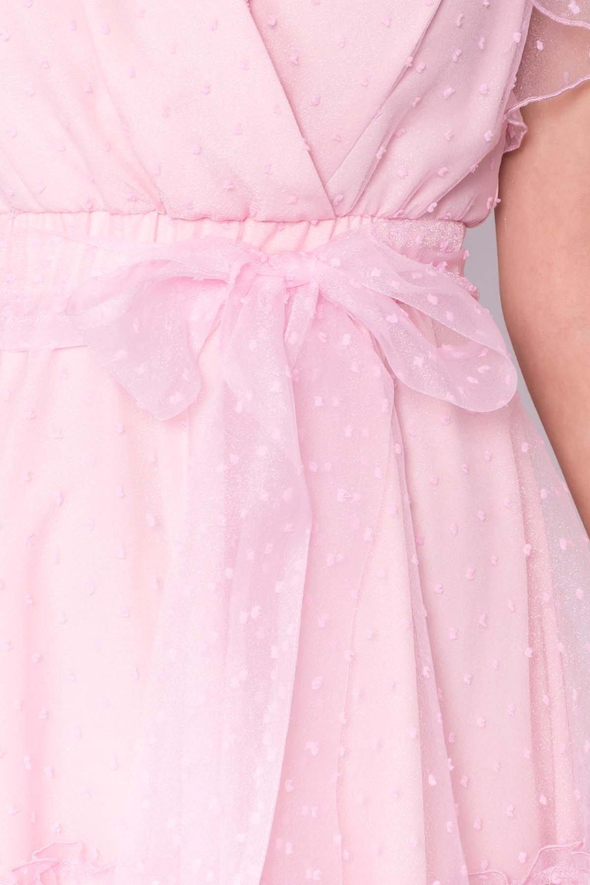 Платье Манана 7075 АРТ. 42448 Цвет: Розовый Светлый 13 - фото 5, интернет магазин tm-modus.ru