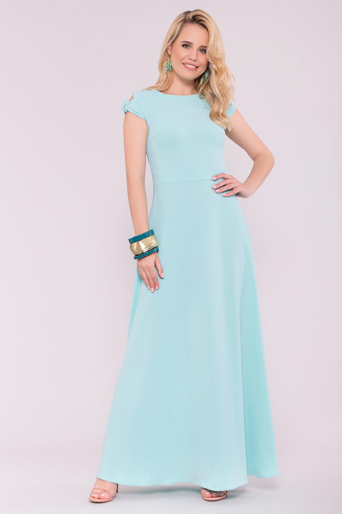 Платье Жане 7181 АРТ. 42599 Цвет: Мята - фото 3, интернет магазин tm-modus.ru