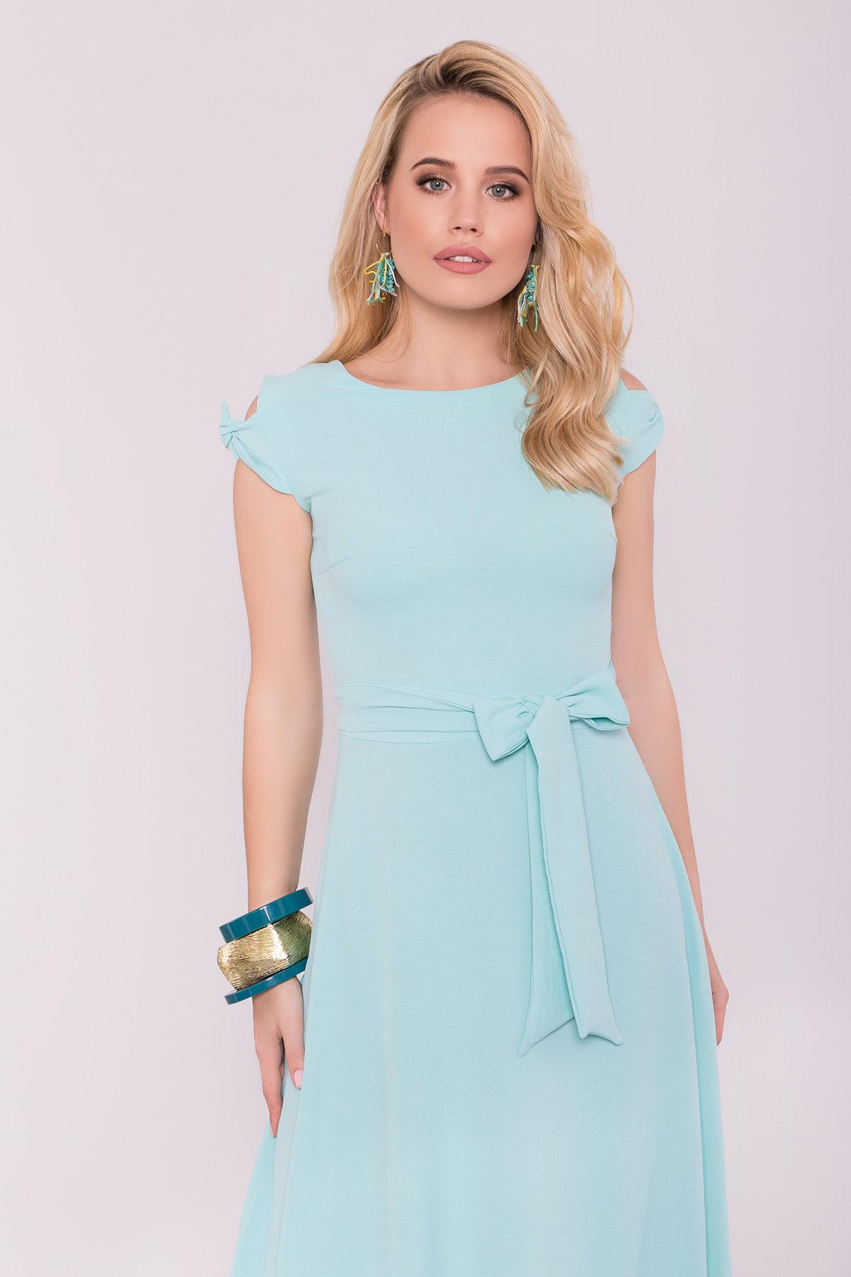 Платье Жане 7181 АРТ. 42599 Цвет: Мята - фото 5, интернет магазин tm-modus.ru