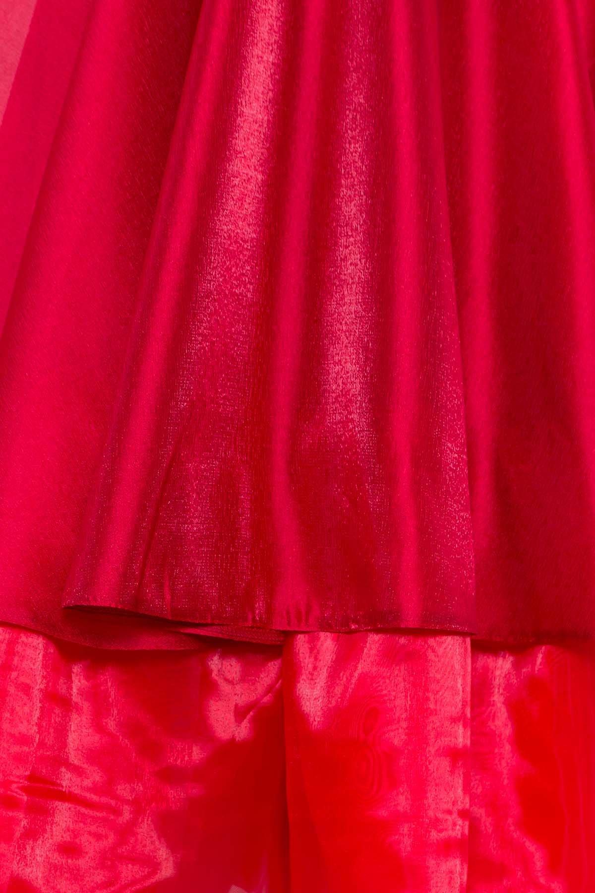 Вечернее Платье Лилу 7135 АРТ. 42528 Цвет: красный/марсал - фото 5, интернет магазин tm-modus.ru