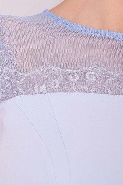 Платье Зарина 6989 Цвет: Голубой 79
