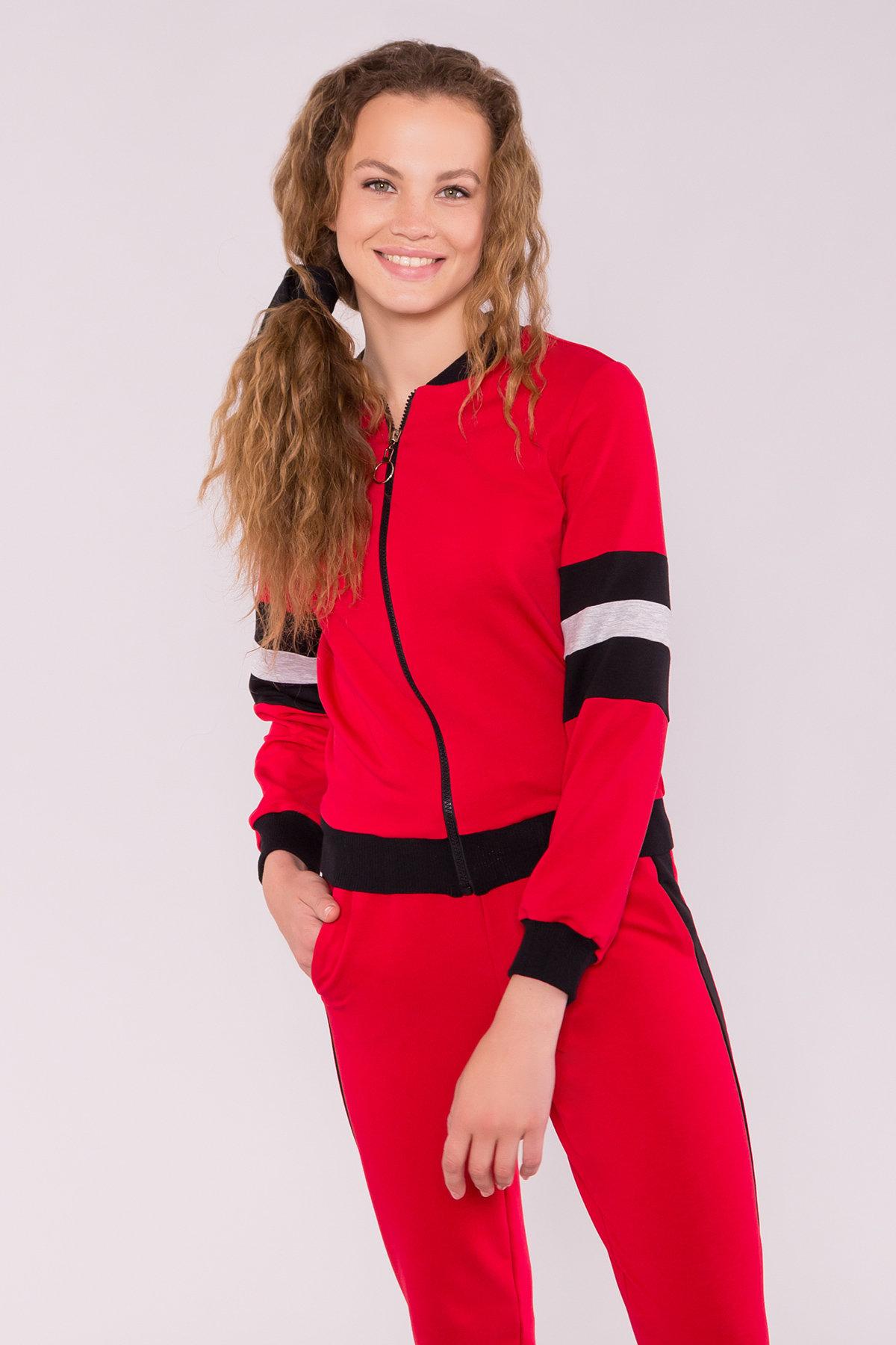 Костюм Ринальдо 7264 АРТ. 42839 Цвет: Красный/сер люр/черн - фото 3, интернет магазин tm-modus.ru