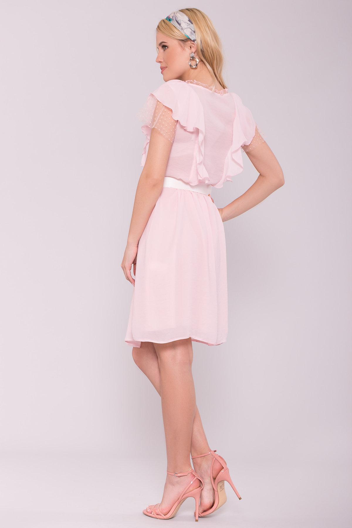 Платье Либре 7256 АРТ. 42820 Цвет: Розовый светлый 7 - фото 3, интернет магазин tm-modus.ru