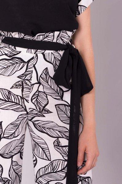 Костюм Малибу 7261 Цвет: Листья абстр мол/черн