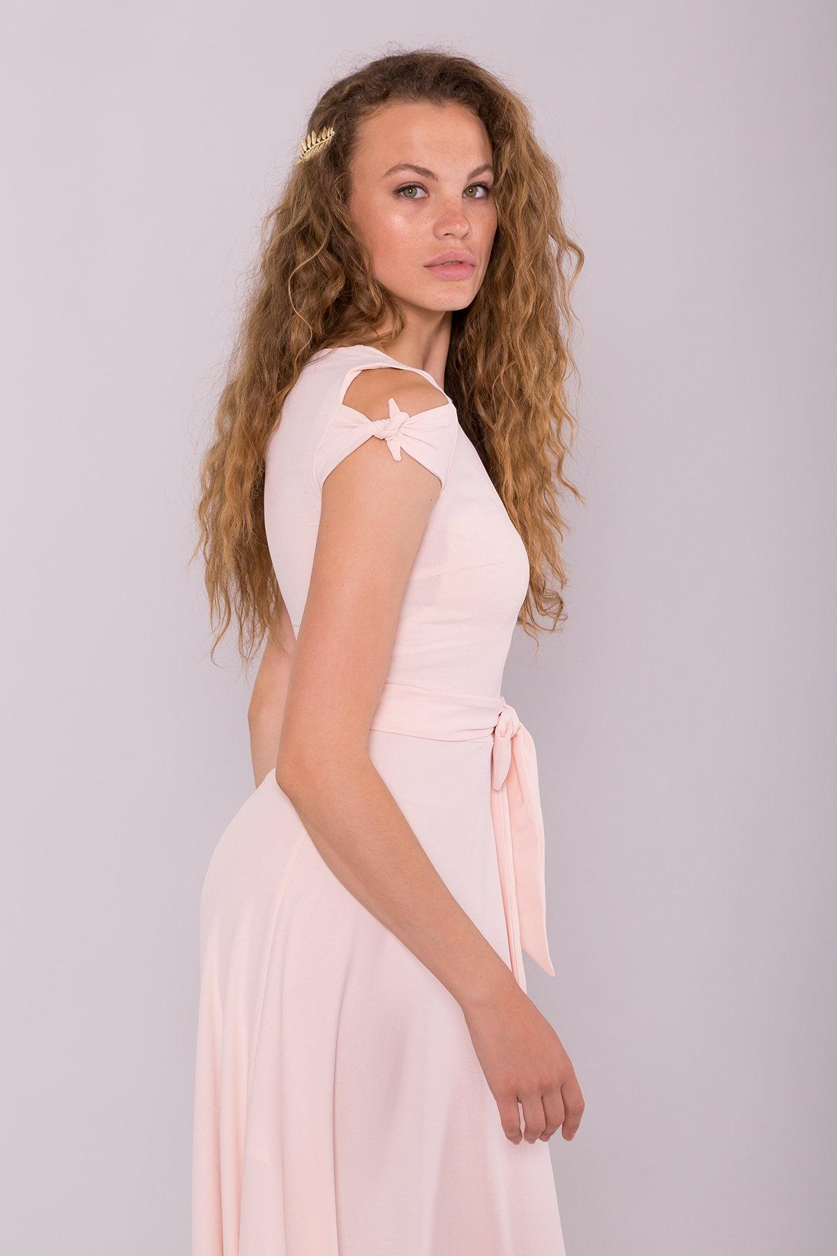 Платье Жане 7181 АРТ. 42598 Цвет: Розовый Светлый - фото 4, интернет магазин tm-modus.ru
