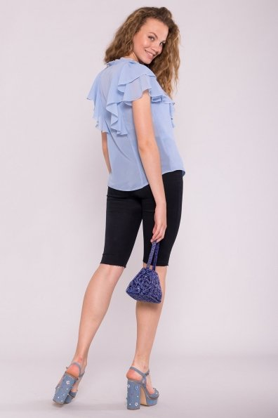 Блуза Дайан 7235 Цвет: Голубой