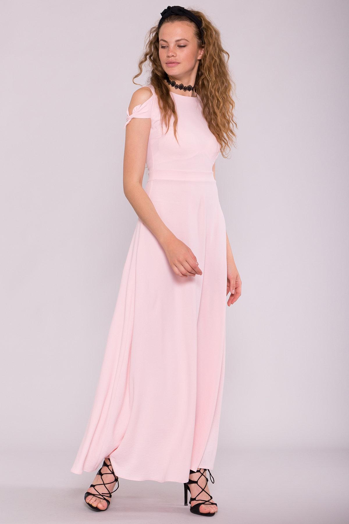 Платье Жане 7181 АРТ. 42597 Цвет: Розовый - фото 2, интернет магазин tm-modus.ru