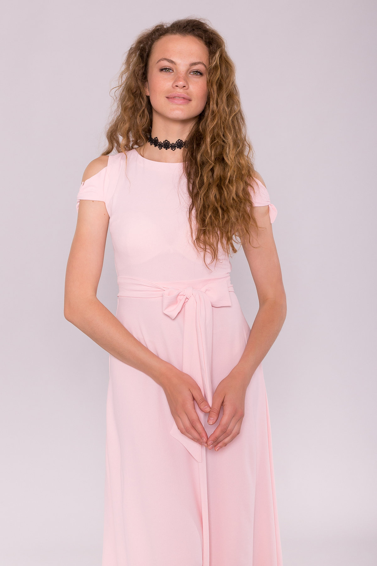Платье Жане 7181 Цвет: Розовый