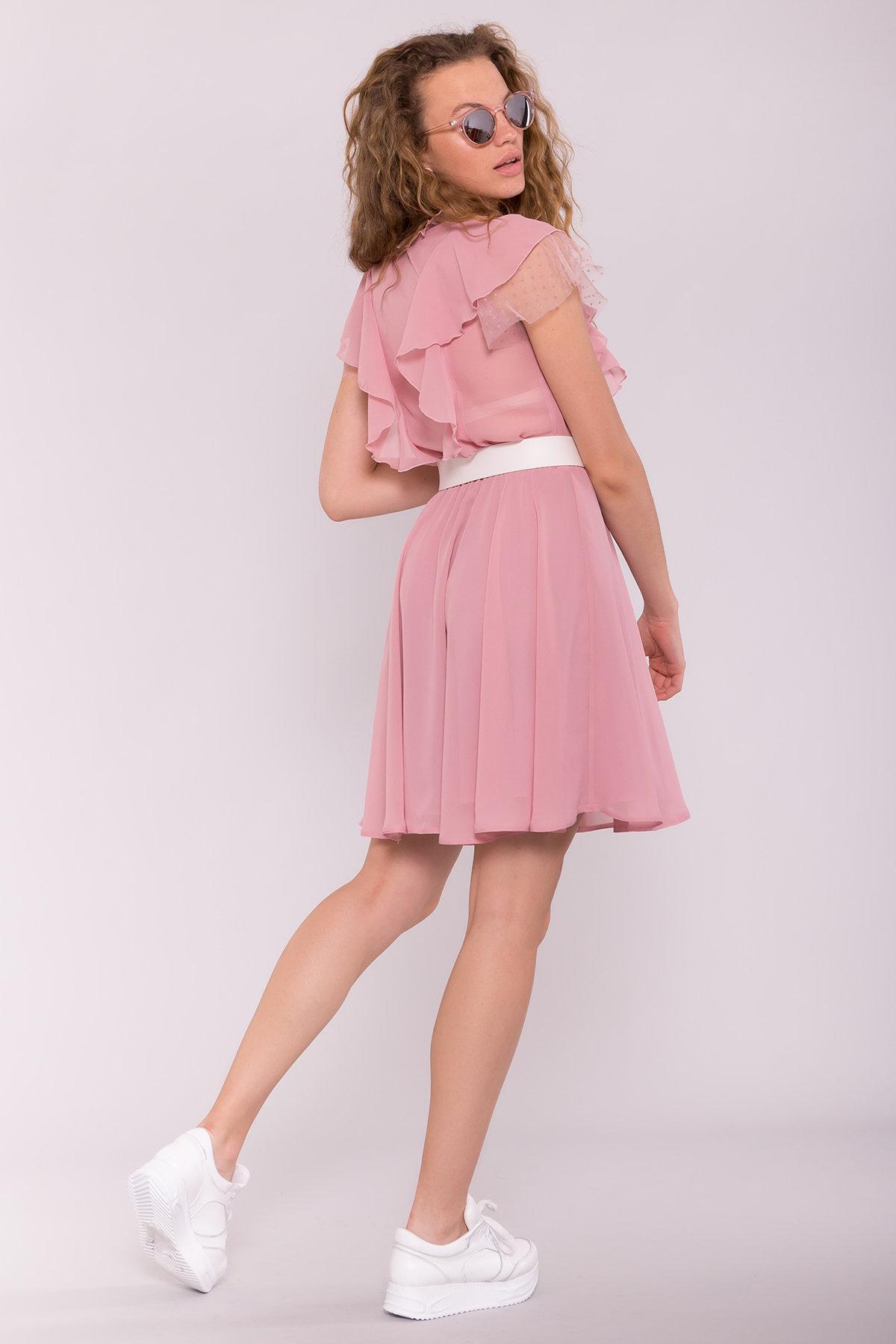 Платье Дали 6992 АРТ. 42792 Цвет: Пудра 4 - фото 2, интернет магазин tm-modus.ru