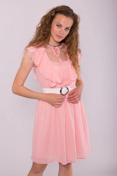 Платье Либре 7256 Цвет: Розовый темный 25