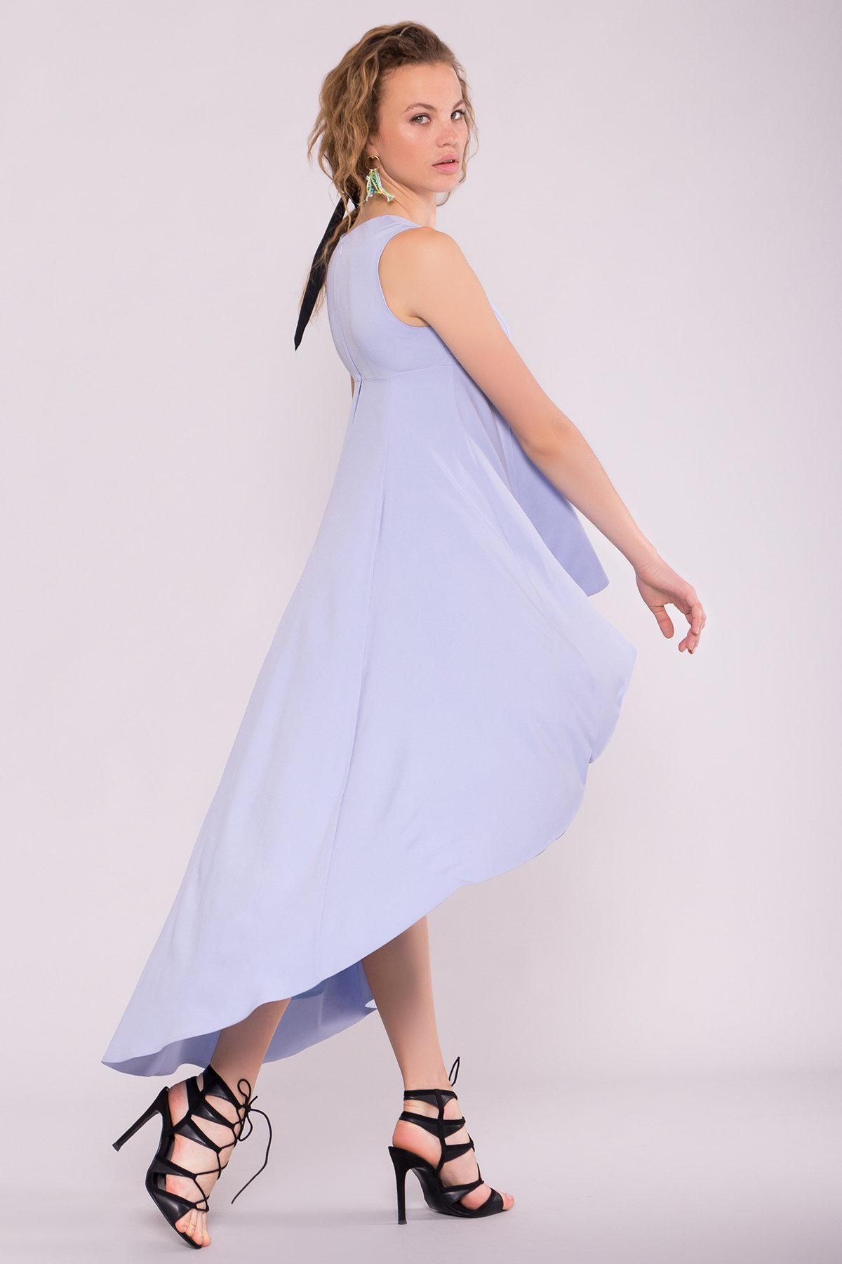 Платье Афродита 7243 АРТ. 42812 Цвет: Голубой - фото 2, интернет магазин tm-modus.ru