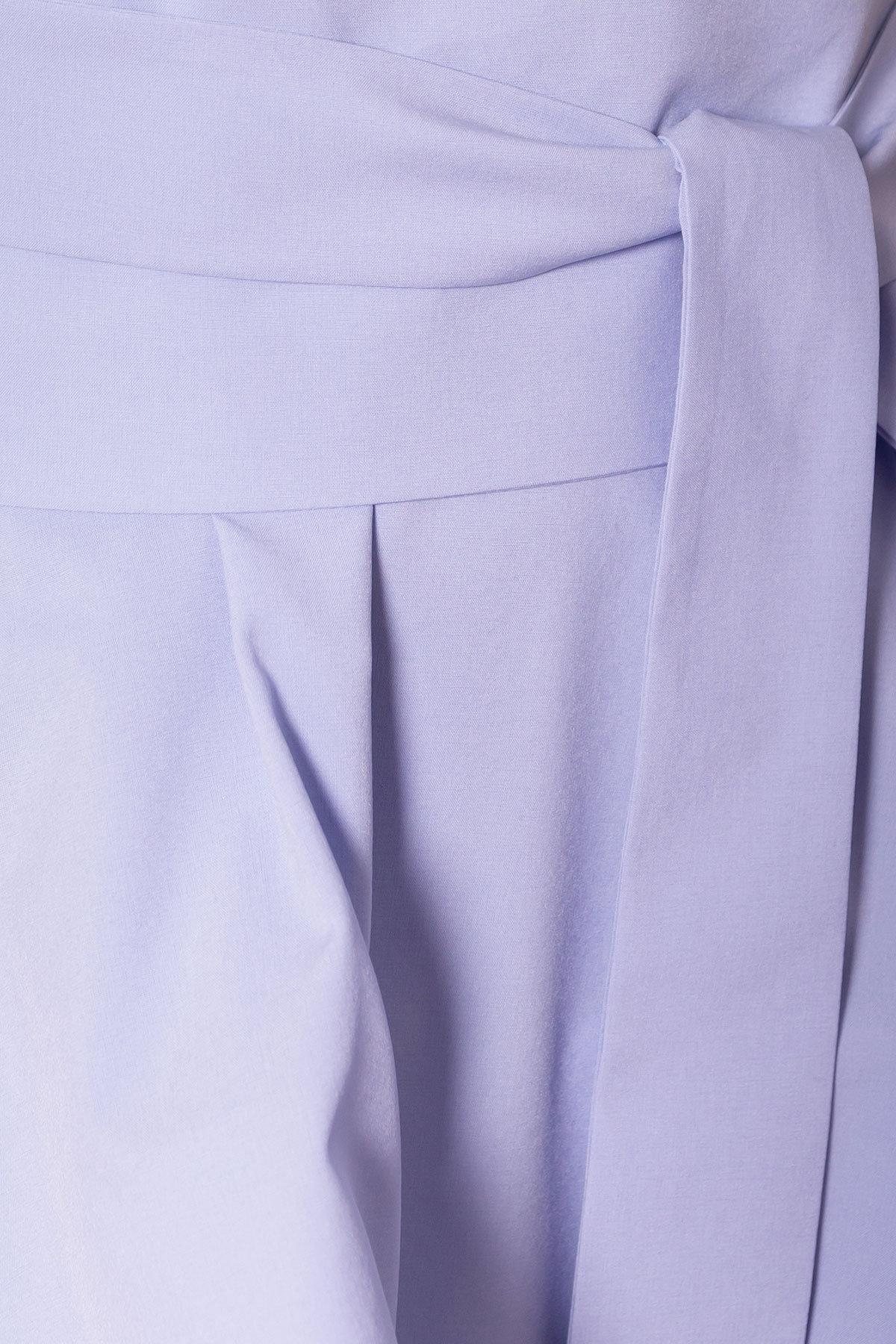 Платье Афродита 7243 АРТ. 42812 Цвет: Голубой - фото 4, интернет магазин tm-modus.ru