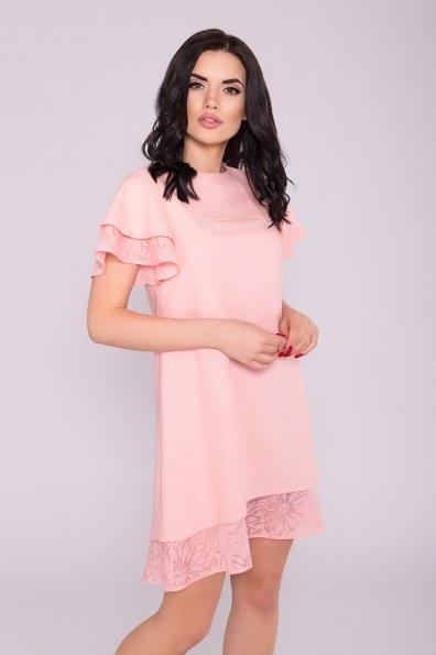 Платье Романтик 4986 Цвет: Пудра 7