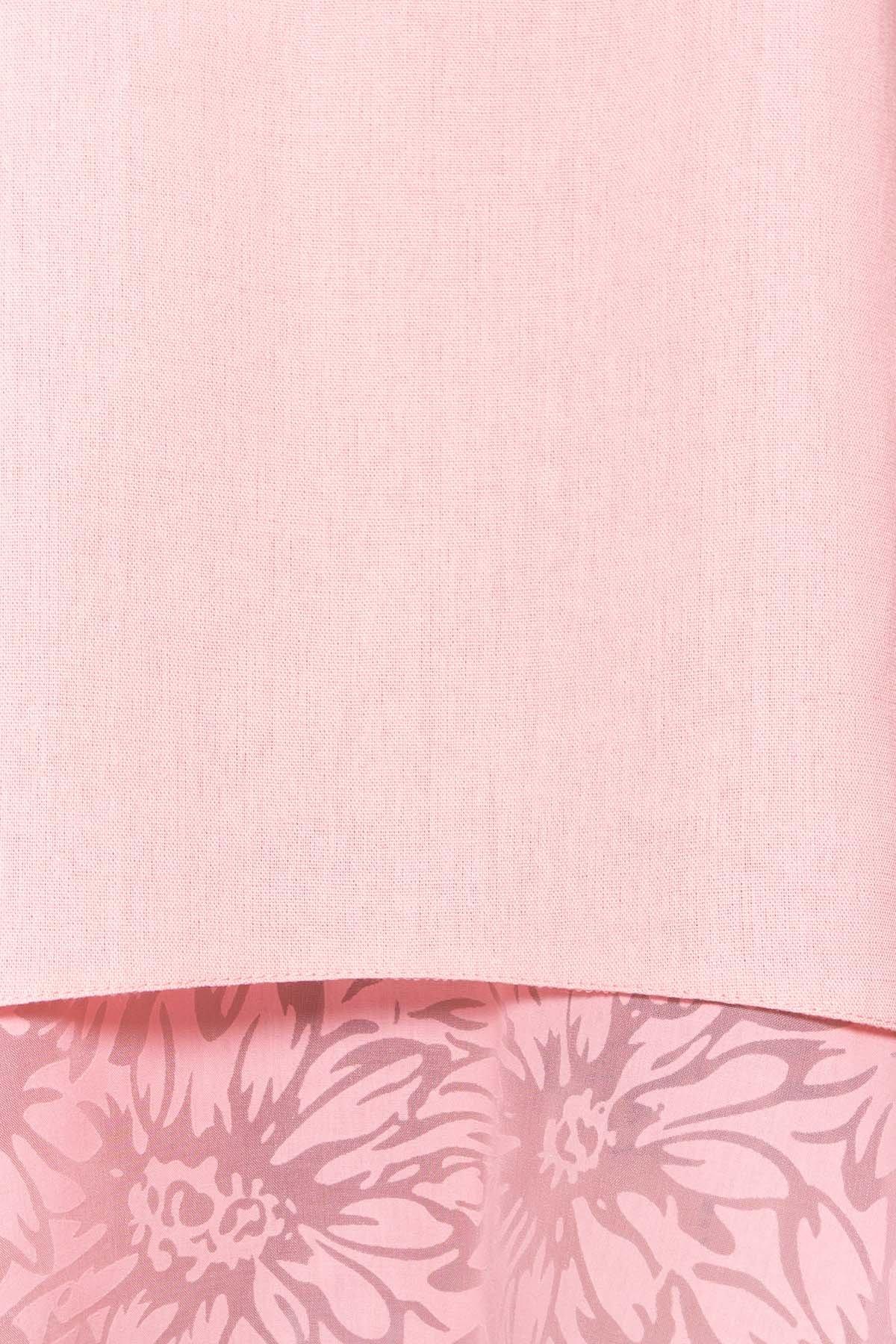 Платье Романтик 4986 АРТ. 35307 Цвет: Пудра 7 - фото 4, интернет магазин tm-modus.ru