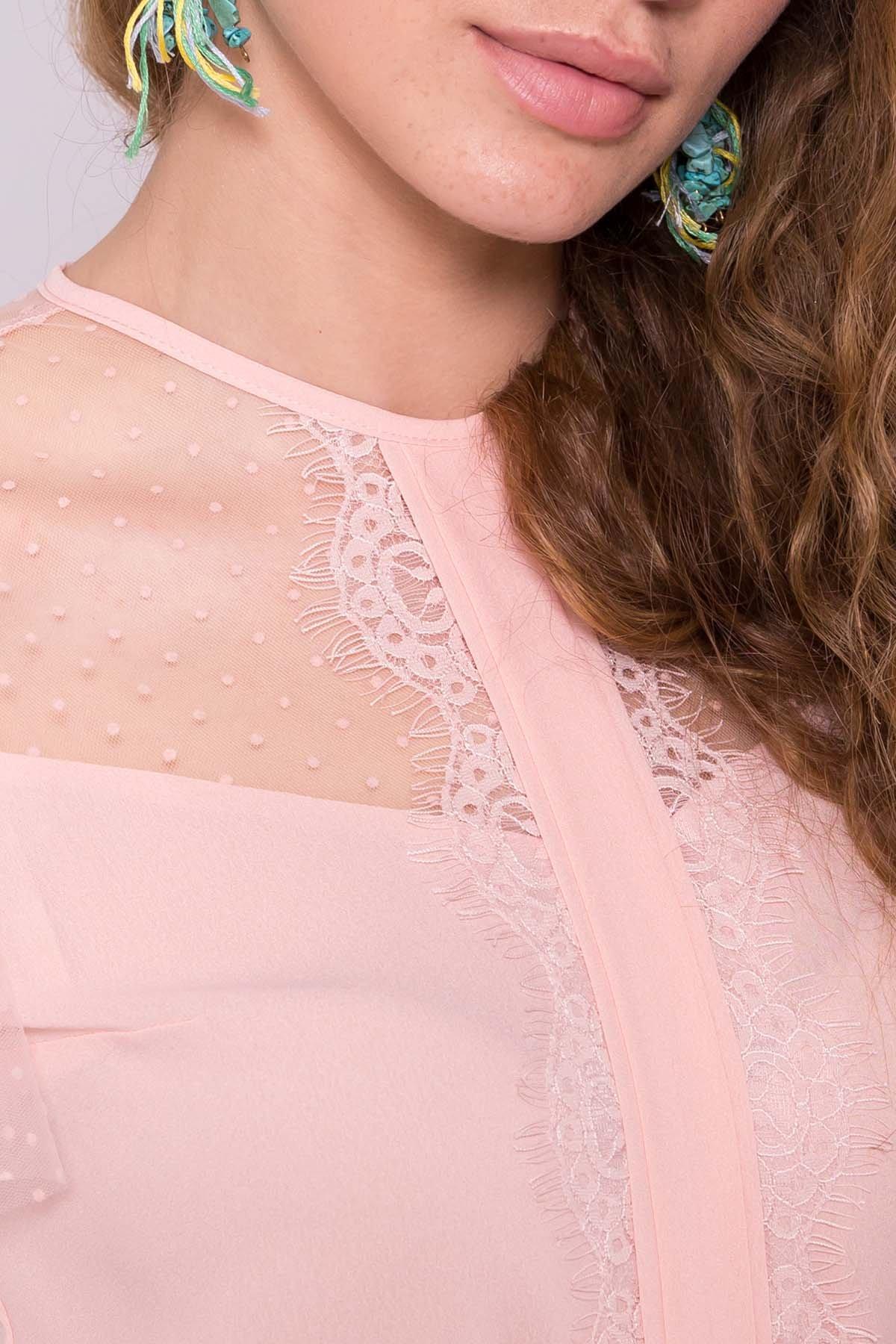 Платье Ламара 7143 АРТ. 42782 Цвет: Пудра светлая 17 - фото 4, интернет магазин tm-modus.ru