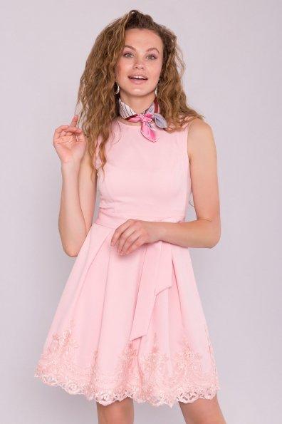 Платье Фиерия 7272 Цвет: Пудра Светлая