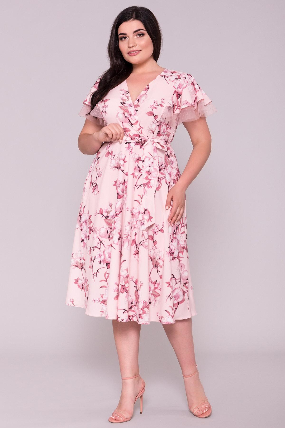 женские платья больших размеров Платье Мидея DONNA 7240