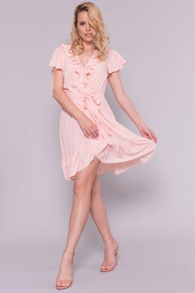 Платье Лигра 7073 Цвет: Пудра Светлая