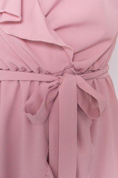 Платье Лигра 7073 Цвет: Пудра Темная