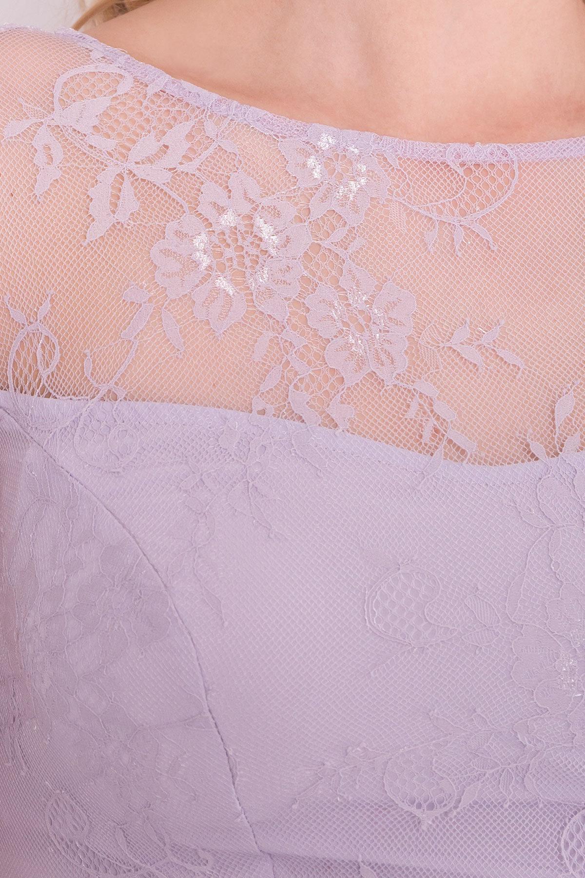 Платье Амур лайт 6913 Цвет: Серо-голубой/серо-голубой