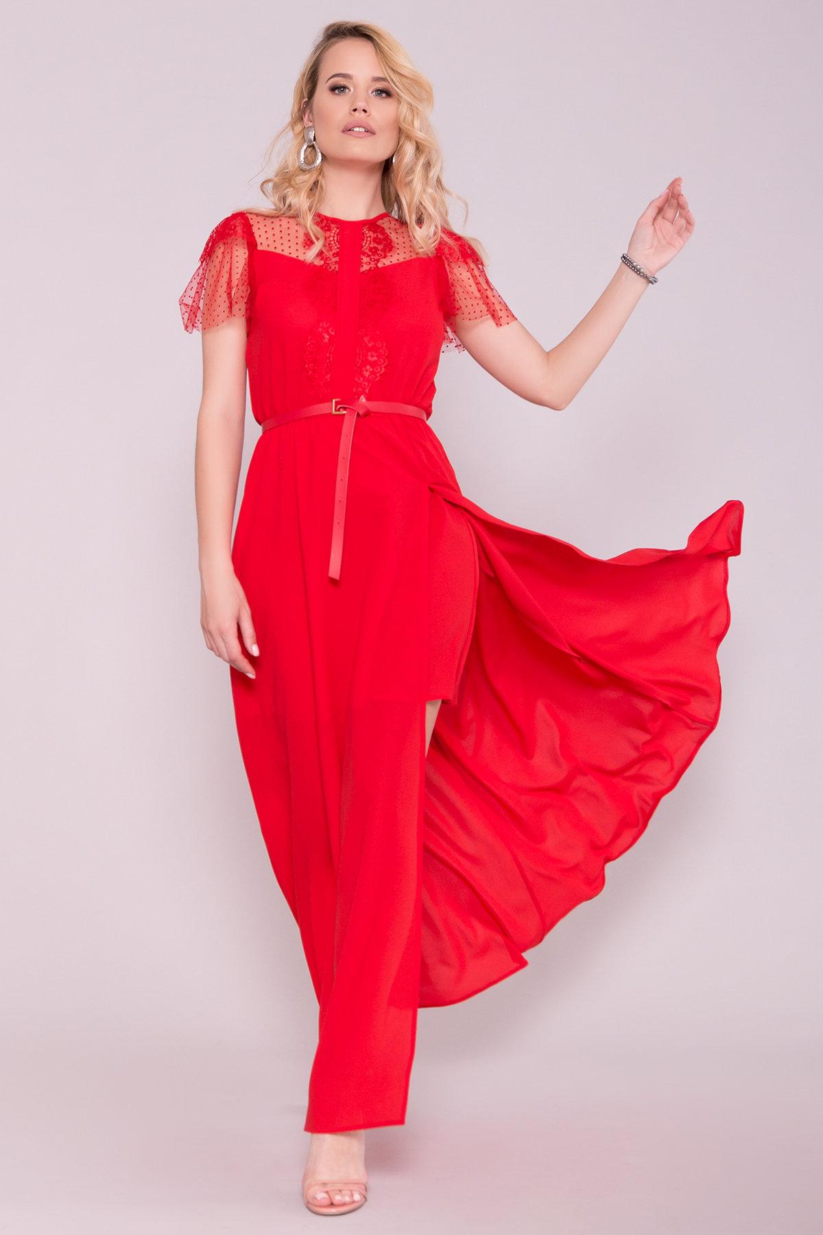Платье Австралия 7333 Цвет: Красный