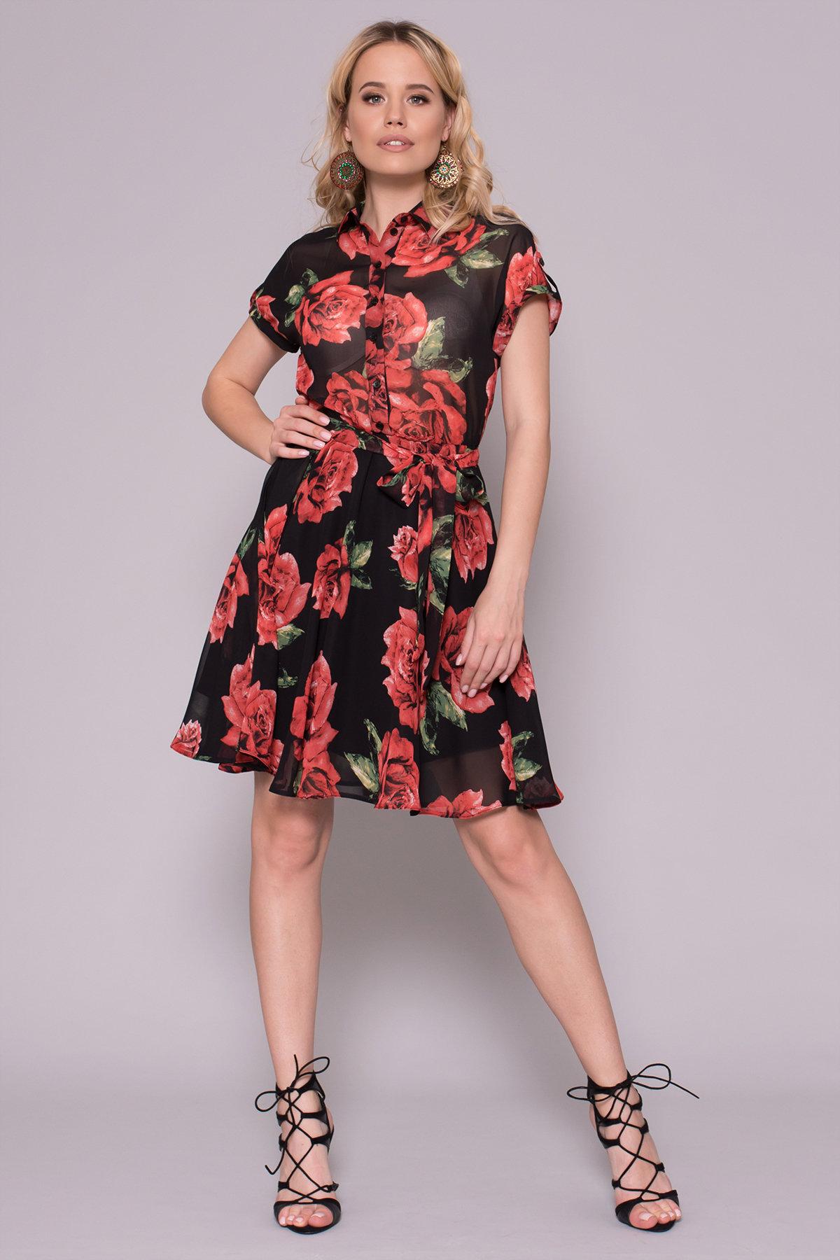 Женские весенние платья Платье Санжар 6935
