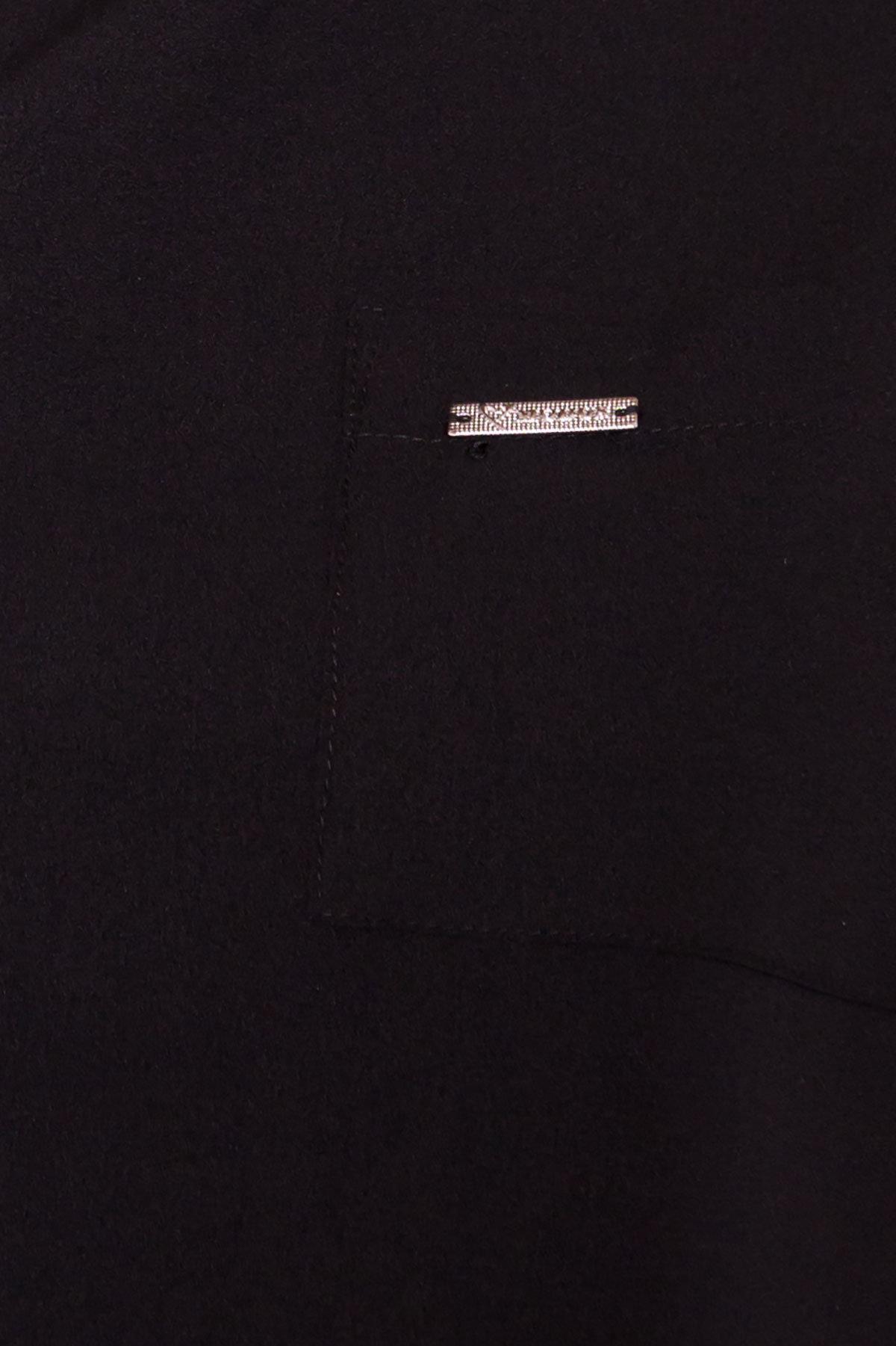 Блуза Девайс 7324 АРТ. 42984 Цвет: Черный - фото 4, интернет магазин tm-modus.ru