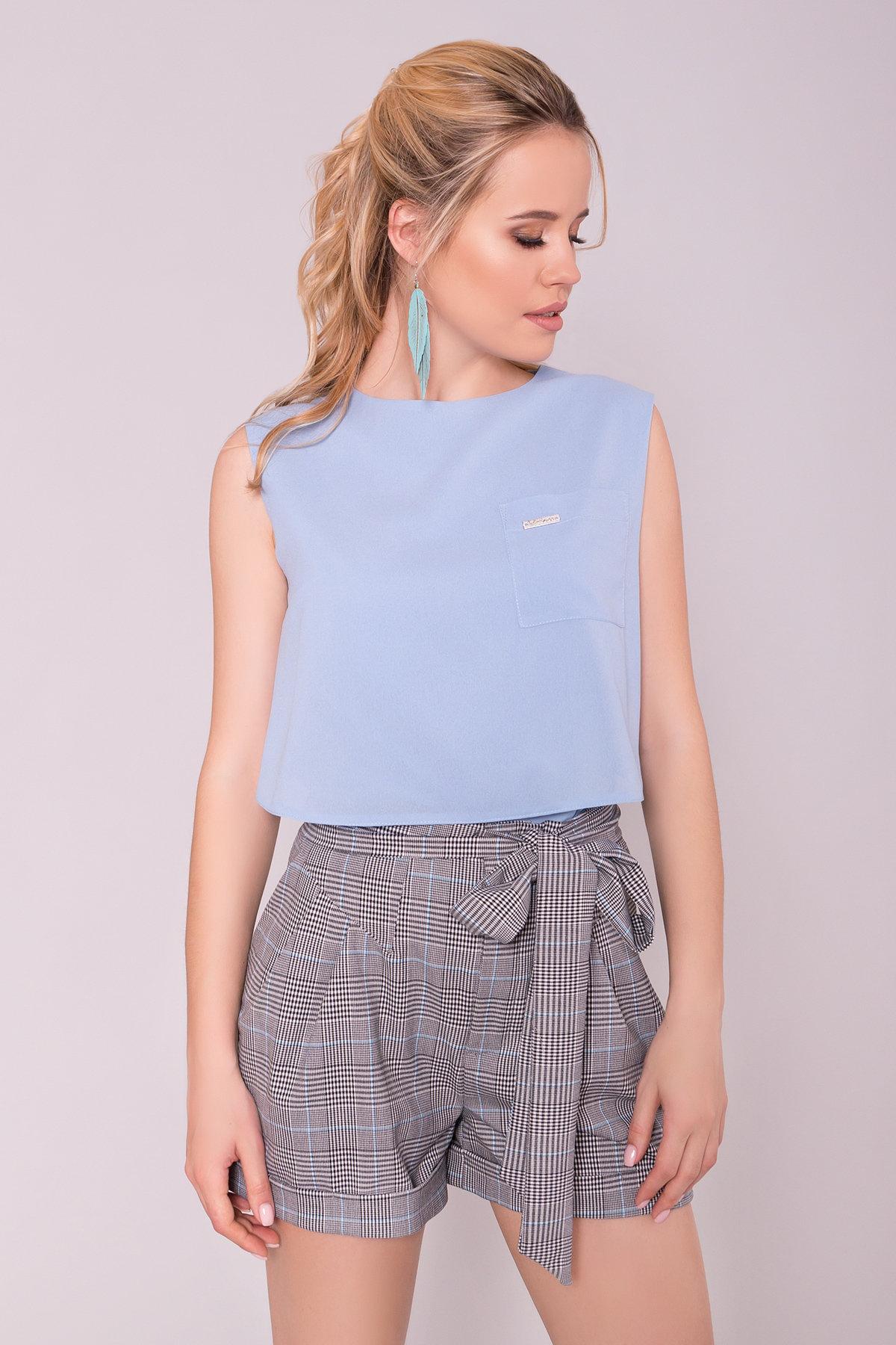 Блуза Девайс 7324 Цвет: Голубой