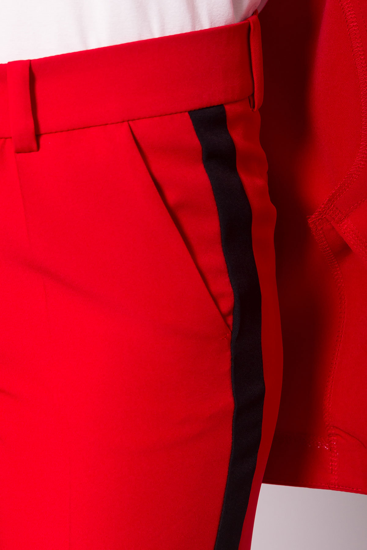 Костюм Макеба 3243 Цвет: Красный 20/черный