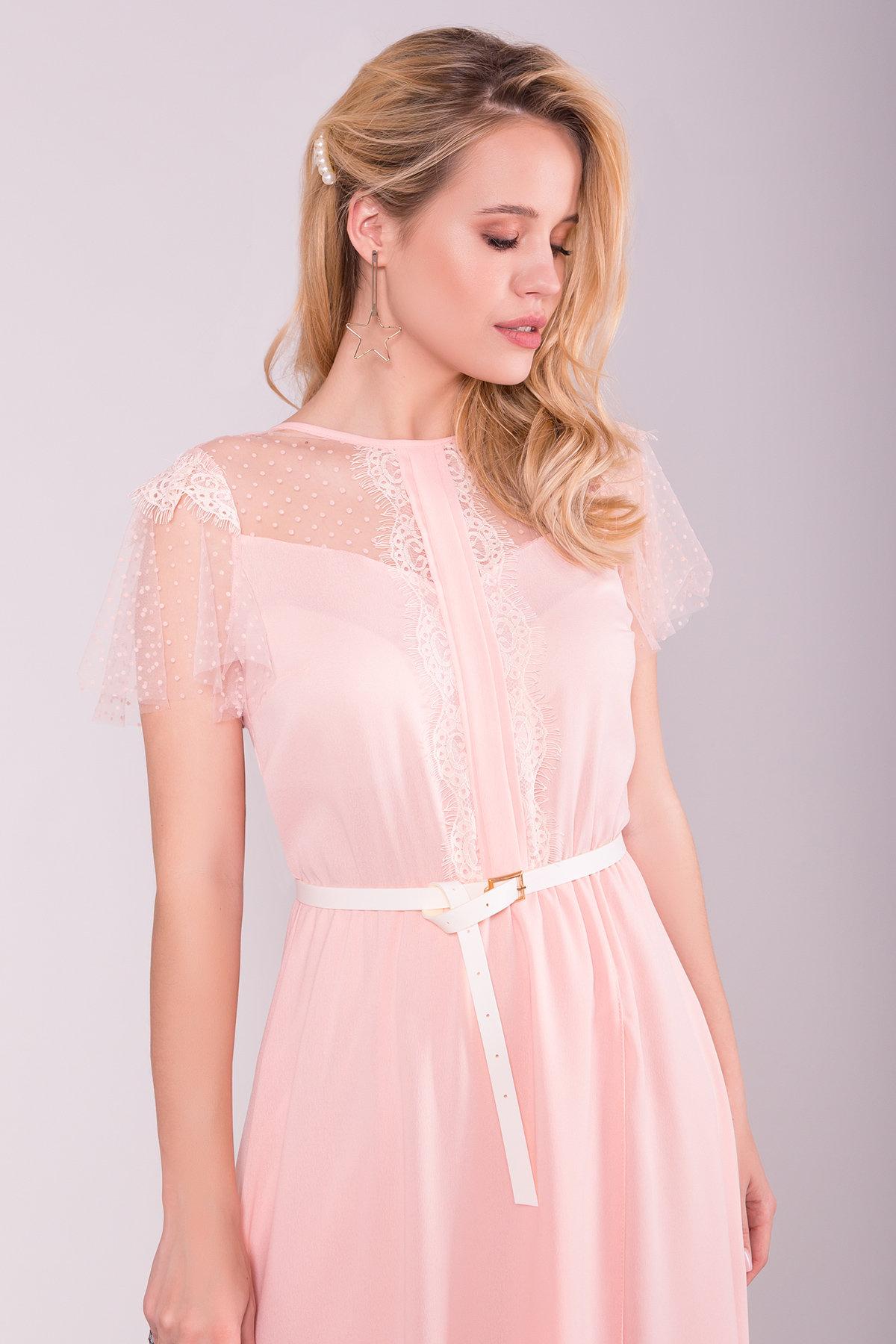 Платье Австралия 7333 АРТ. 43030 Цвет: Пудра Светлая - фото 4, интернет магазин tm-modus.ru