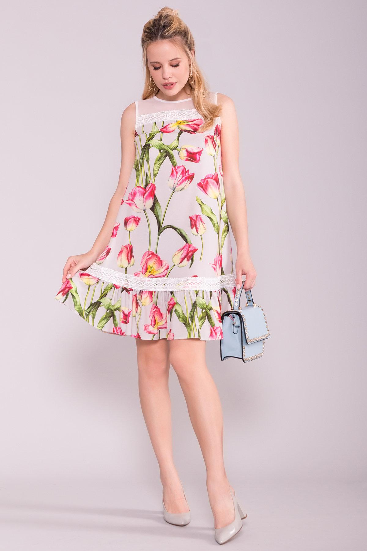 весенние платья интернет магазин Платье Инга 7063