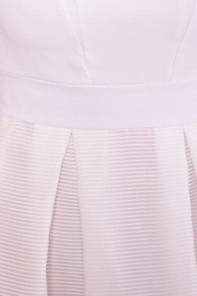 Платье Зарина 6989 Цвет: Белый