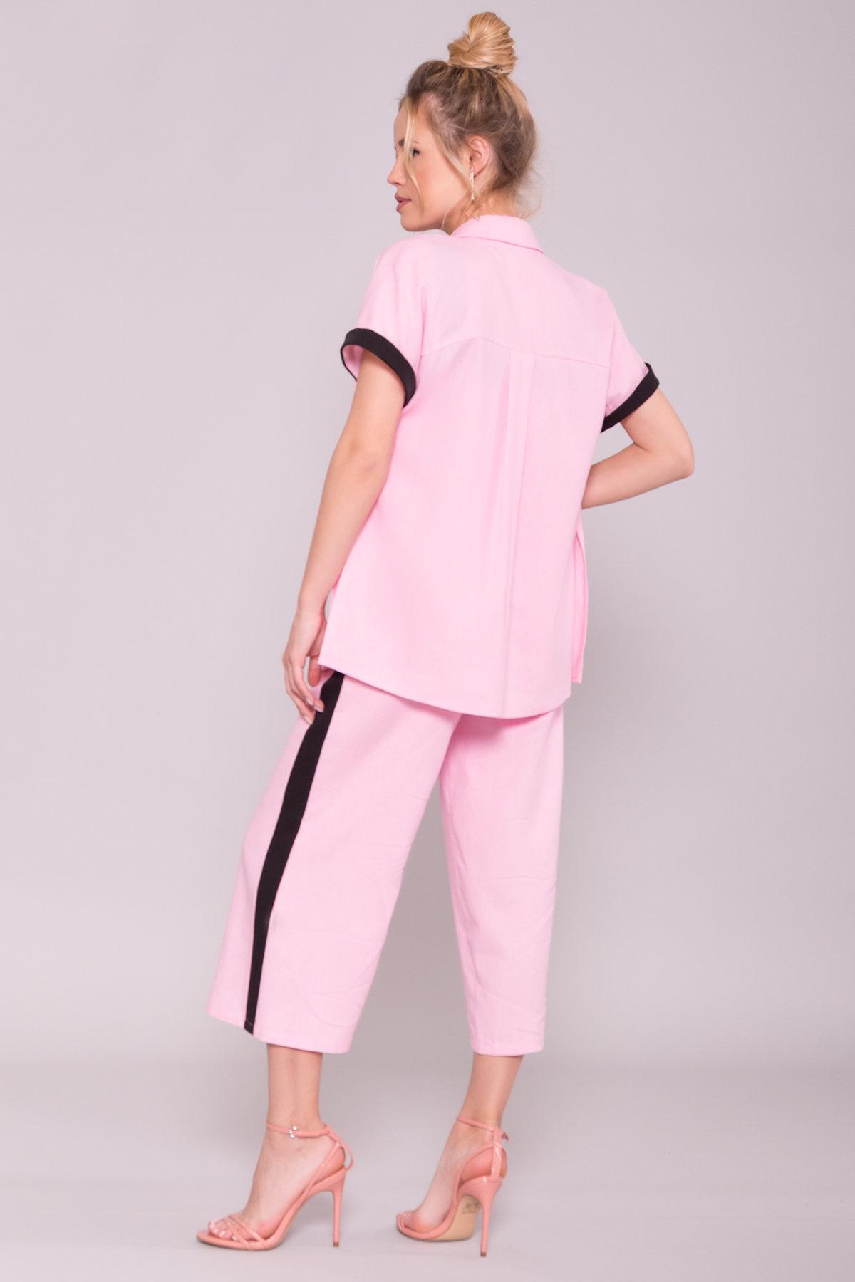 Костюм Канто 7357 Цвет: Розовый/ Черный
